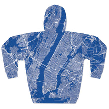 Load image into Gallery viewer, Limited Edition All Over Manhattan - Unisex Pullover Hoodie