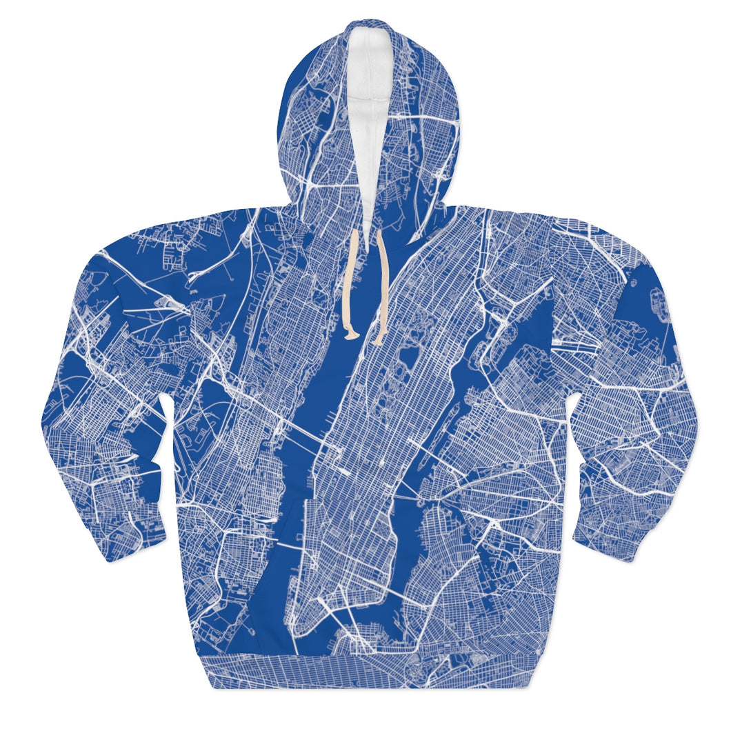 Limited Edition All Over Manhattan - Unisex Pullover Hoodie