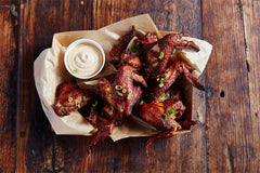 WINGS – SMOKED THEN FRIED