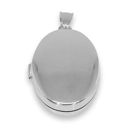 Oval Picture Locket Pendant - Allccess