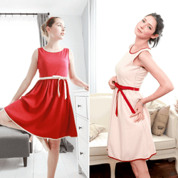 Mother & Daughter Matching Dress : Butterfly Swing - Allccess