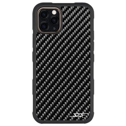 iPhone 11 Pro Max Real Carbon Fiber Case | ARMOR Series - Allccess