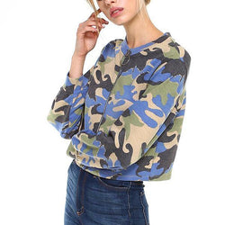Camo Front Full Zip - Allccess