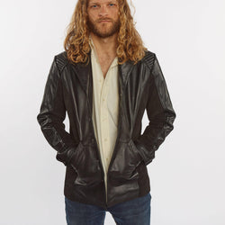 Men's Tormund Suede Leather Blazer - Clearance - Allccess