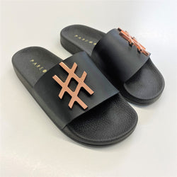 Hashtag Metal Badge Slides - Allccess