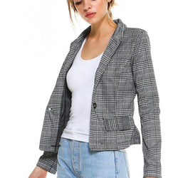 Ponti Plaid Blazer - Allccess