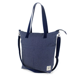 Aria Reversible Messenger: Denim Stitch - Allccess