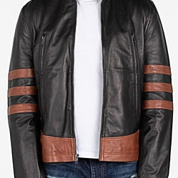 Men's X-Men Wolverine Leather Jacket - Allccess