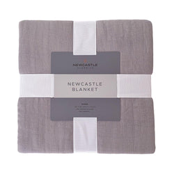 Oversized Queen Bamboo Blanket - Newcastle Grey - Allccess