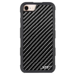 iPhone 6/7/8/SE Real Carbon Fiber Case | ARMOR Series - Allccess