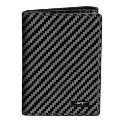 Real Flexible Carbon Fiber Tri-Fold Wallet - Allccess