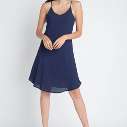 Women's Casual Sleeveless Flowy Dress - Allccess