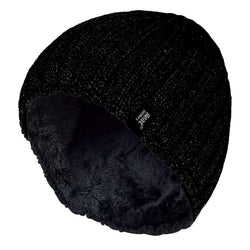 Mens Fleece Lined Thermal Beanie Hat - Allccess