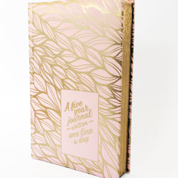 A Five Year Journal Written One Line A Day (Pink Gold) - Allccess