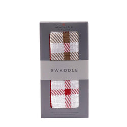 Plaid Swaddle - Allccess
