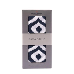 Moroccan Blue Swaddle - Allccess