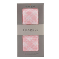 Primrose Pink Plaid Swaddle - Allccess