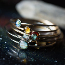 Solar System Stacked Bangle Set - Allccess