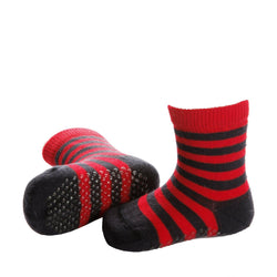 NORTH striped baby socks with merino wool - Allccess