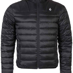Mens Thermal Waterproof Fleece Lined Puffer Jacket - Allccess