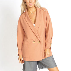Lisa Business Casual Oversized Blazer - Allccess