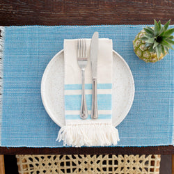 Inabel Placemat | Pastel Blue - Allccess