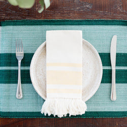 Inabel Placemat | Forrest Green - Allccess