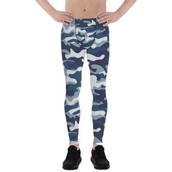 Mens Leggings - Urban Camo Army / Military Pattern - Allccess