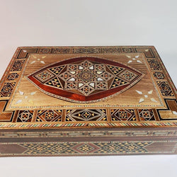 Luxurious Syrian Mosaic Multipurpose Box - Allccess