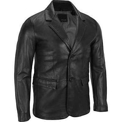 Tabuk Mens Leather Coat - Allccess