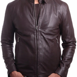 Jordan Mens Leather Jacket - Allccess