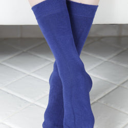 JANNE children's dark blue socks - Allccess