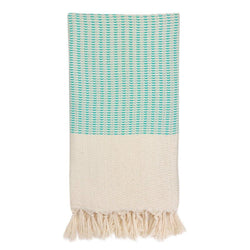 Plush Wavy Turkish Towel - Allccess