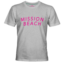 MISSION BEACH LOGO PRINT MEN T-SHIRT - Allccess