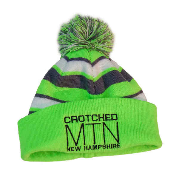 Crotched Mtn Pom Pom Hat