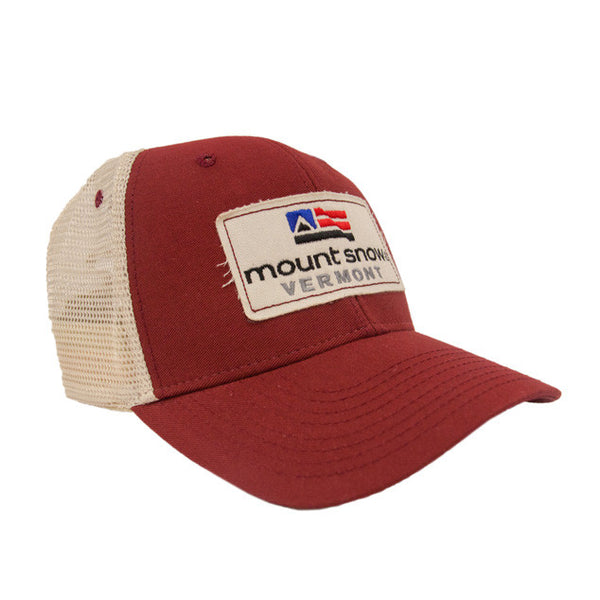 Mount Snow Mesh Back Cap