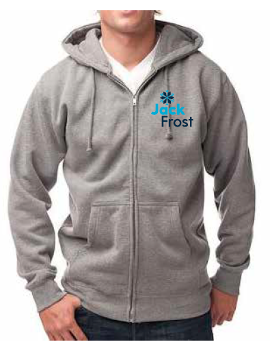 Jack Frost Zippered Sweatshirt