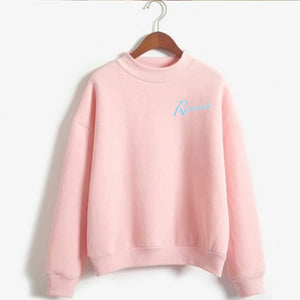 Love Yourself kpop Capless Sweatshirts outwear Hip-Hop Women and men Turtleneck New DNA  K-pop Clothes 2019
