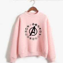 Load image into Gallery viewer, Love Yourself kpop Capless Sweatshirts outwear Hip-Hop Women and men Turtleneck New DNA  K-pop Clothes 2019