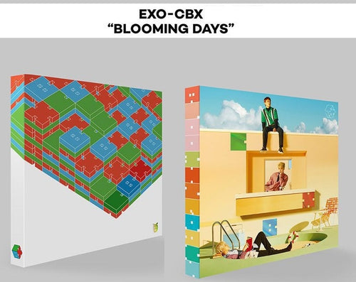[MYKPOP]~100% OFFICIAL ORIGINAL~ EXO CBX MINI#2:  Blooming Days Album CD, KPOP Fans Collection - SA19081702