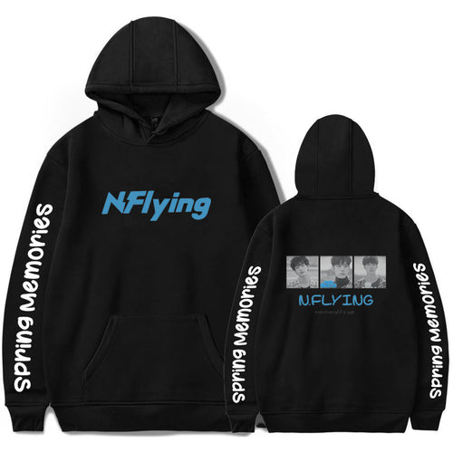 N.Flying Hoodies Sweatshirt Femme Autumn Winter Harajuku Hip Hop Streetwear Hoodie Women Men Long Sleeve Fleece Kpop Hoodies