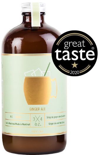 Ginger Ale Syrup - Great Taste Award Winner