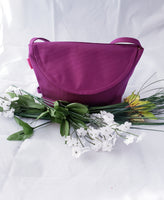 Lola Cross-Body: Purple