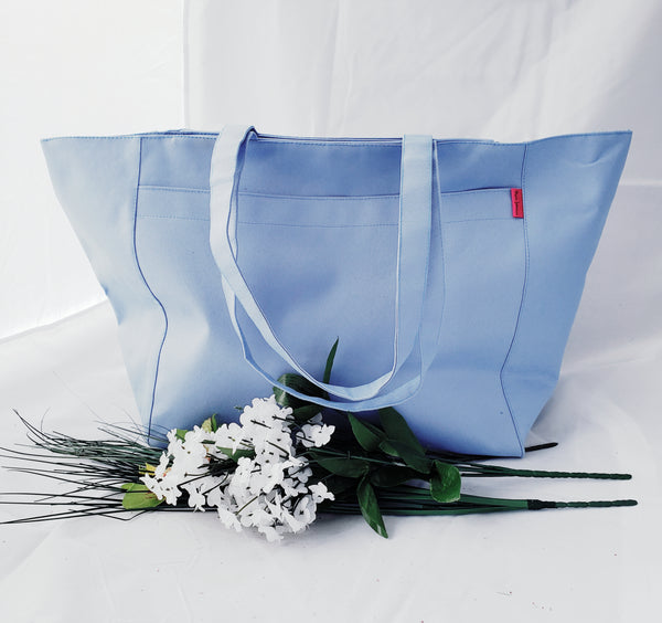 Day 2 Nite Tote - Lite Blue