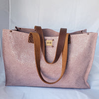The Florence Tote - Mauve