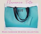 The Florence Tote - Teal