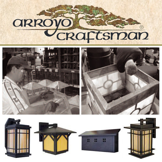 Replacing Glass or Mica in an Arroyo Craftsman Light Fixture: