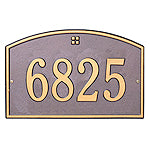Whitehall Cape Charles Number Plaque