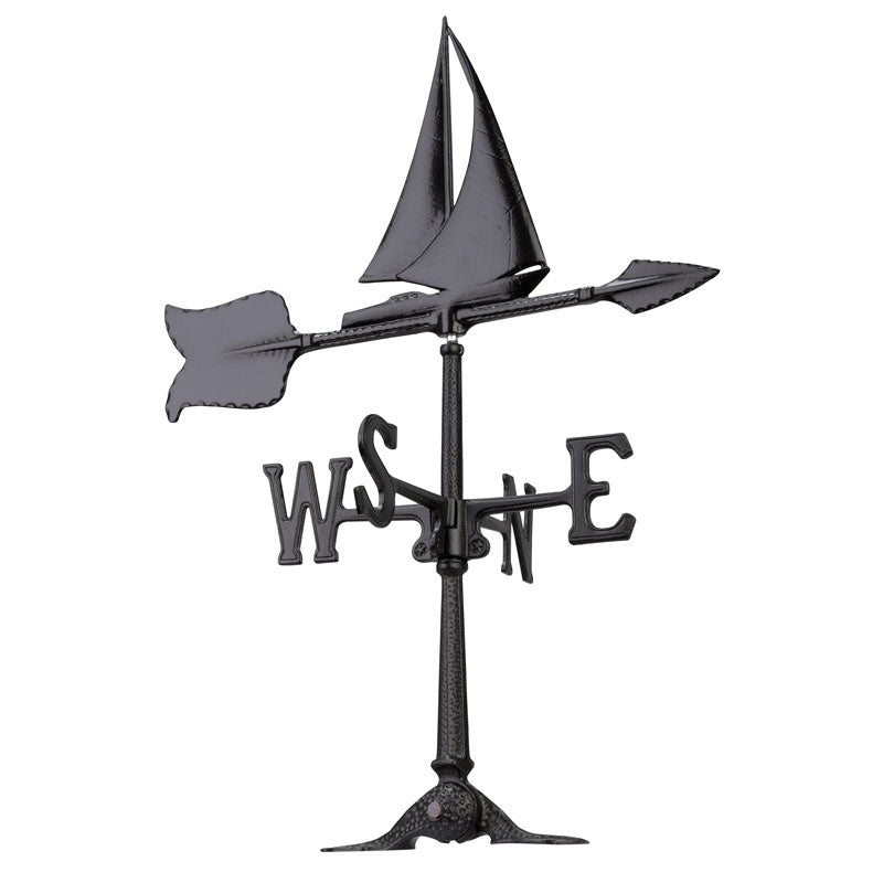 00075 KO 30 Inch Sailboat Accent Weathervane
