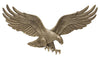 00734 KO 29 Inch Wall Eagle - Antique Brass